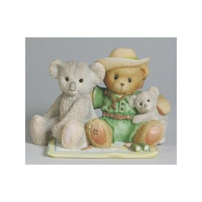 Australia Bear with Koalas - Cherished Teddies Figurine, 4003884