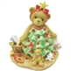 Girl Dressed In A Christmas Tree - Cherished Teddies Figurine, 4008159