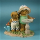 Girl Bears at Birdbath - Cherished Teddies Figurine, 4012865