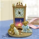 Sleepy Time Bear Musical Cherished Teddies Figurine Clock, 4015570