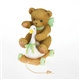 Girl Bear Riding Vintage Toy Swan - Cherished Teddies Figurine, 4020563