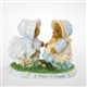 Two Bears in Bonnets - Cherished Teddies Figurine, 4020566