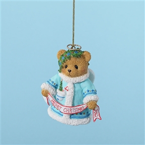 2012 Bell Christmas Ornament - Cherished Teddies, 4023641
