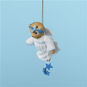 Bear Angel with Stars - Cherished Teddies Ornament, 4023650