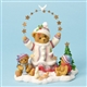 Bear Dressed for Winter with Stars and Dove - Cherished Teddies Figurine, 4023737