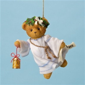 Cherished Teddies Angel Bear of Peace - Hanging Ornament, 4023745