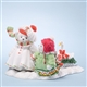 Bears Pulling Sled - Cherished Teddies Figurine, 4024350