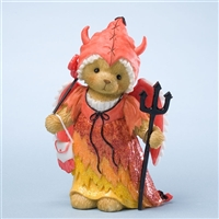 Bear in Devil Halloween Costume - Cherished Teddies Collectible Figurine, 4025778