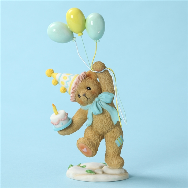 Birthday Party Bear, Cherished Teddies Figurine 4028074