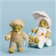 Bear Pulling Girl - Cherished Teddies Figurine, 4030792