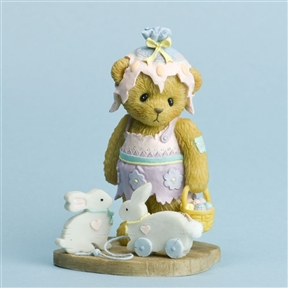 Bear in Easter Outfit - Cherished Teddies Figurine, 4030793