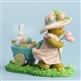 Girl Pulling Easter Cart Cherished Teddies Figurine 4030794