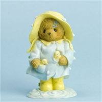 Raincoat Bear with Chicks - Cherished Teddies Figurine, 4031518