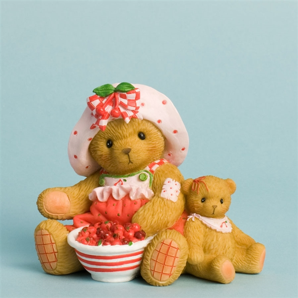 Bears with Strawberries - Cherished Teddies Figurine, 4031670
