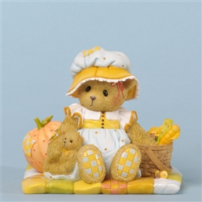 Harvest Bear with Pumpkins - Cherished Teddies Figurine, 4035940
