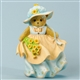 Bear in Dress with Posies - Cherished Teddies Figurine, 4035945