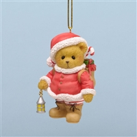 Christmas Bear - Cherished Teddies Tree Ornament, 4034605