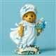 Cherised Teddies Bear / Mom Sign / Flower Figurine, 4045992