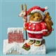 Cherished Teddies Santa on Rooftop, 4047378