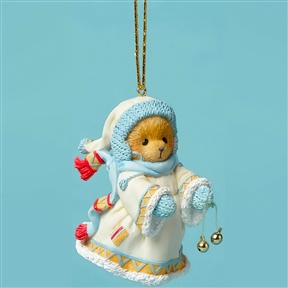 Cherished Teddies Laplander Bear with Bells Ornament, 4047385
