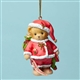Cherished Teddies Santa Bear with Gifts Ornament, 4047386