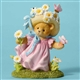 Cherished Teddies Bear with Daisies Figurine, 4051517