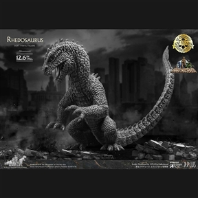 Star Ace Rhedosaurus (Beast from 20,000 Fathoms) Monochrome Ver. Standard Vinyl Figure