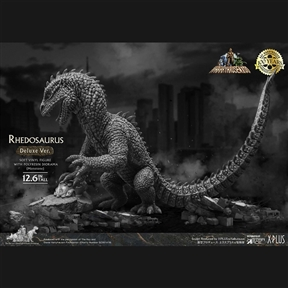 Star Ace Rhedosaurus (Beast from 20,000 Fathoms) Monochrome Ver. Deluxe Vinyl Figure
