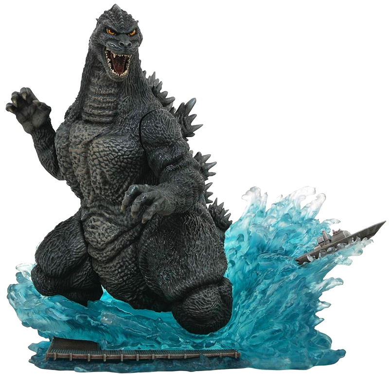 Diamond Select Godzilla 1991 Diorama Figure.