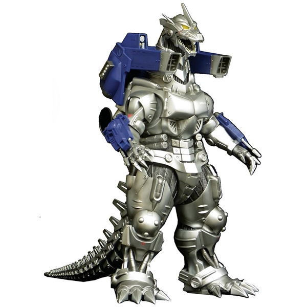 X-Plus Godzilla Kaiju 12in Series Mechagodzilla Kiryu 2002 Vinyl Figure - Diamond Reissue