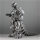 X-Plus Godzilla Kaiju 12in Series Mechagodzilla Kiryu 2003 Vinyl Figure - Diamond Reissue