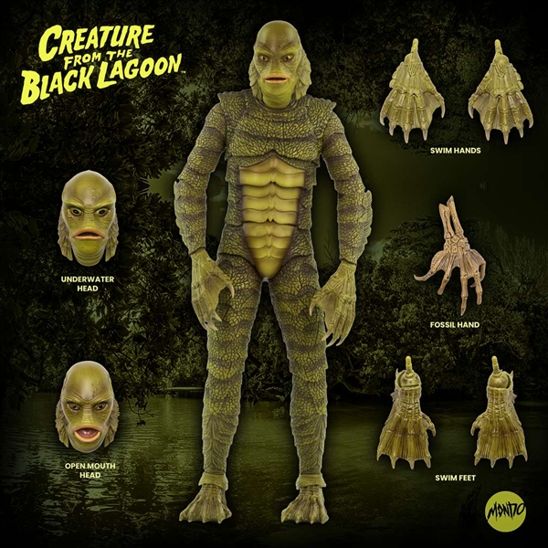 Mondo Creature From The Black Lagoon articulated figure.