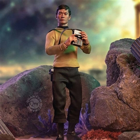 QMX Star Trek Master Series Lt. Sulu 1/6 Scale Figure by Quantum Mechanix