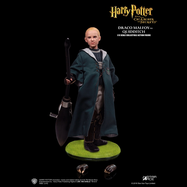 1/6 Scale Draco Malfoy (Chamber of Secrets, Quidditch Version) Figure by Star Ace