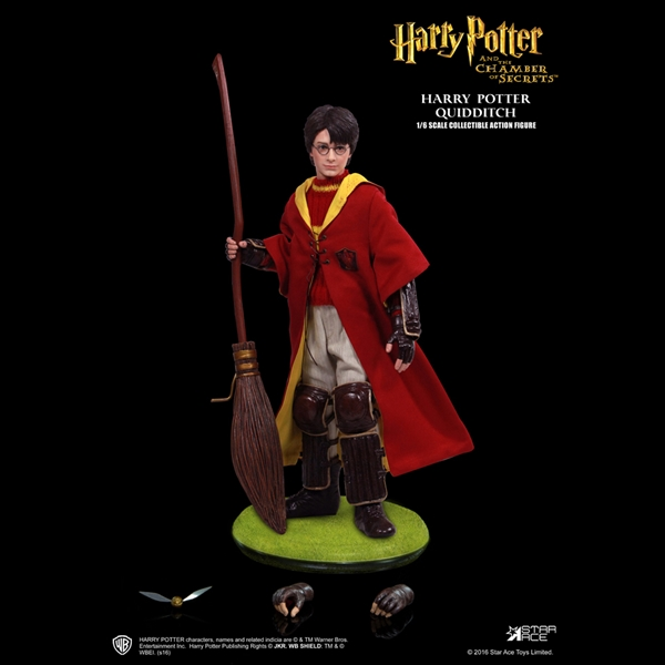 1/6 Scale Harry Potter (Chamber of Secrets, Quidditch Version) Figure by Star Ace