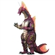 X-Plus Godzilla Kaiju 12in Series Titanosaurus Vinyl Figure - Diamond Reissue