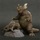 X-Plus Large Monster Series Baragon and Mini Varan 1968 Vinyl Figure Set - Diamond Re-Issue