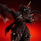 X-Plus Large Monster Series Destoroyah Vinyl Figure - Diamond Re-Issue