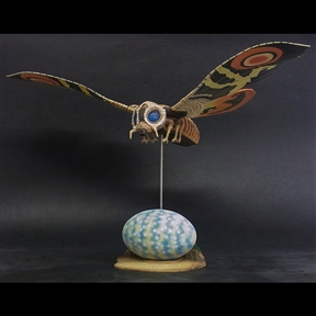 X-Plus Large Monster Series Mothra Imago 1964 Vinyl Figure Set - Diamond Re-Issue