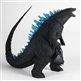 X-Plus 12in Series Godzilla 2014 Blue Dorsal Fins / Roar Version Vinyl Figure - Diamond Reissue - Diamond Reissue