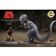 One Million Years B.C. Allosaurus and Tumak Vinyl Figure Set by Star Ace / X-Plus