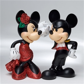 Disney Showcase Mickey and Minnie Paso Doble Figurine