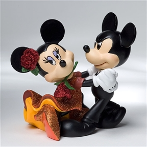 Disney Showcase Mickey and Minnie Tango Figurine