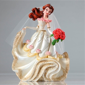 Disney Showcase Belle Wedding Couture de Force Figurine, 4045444
