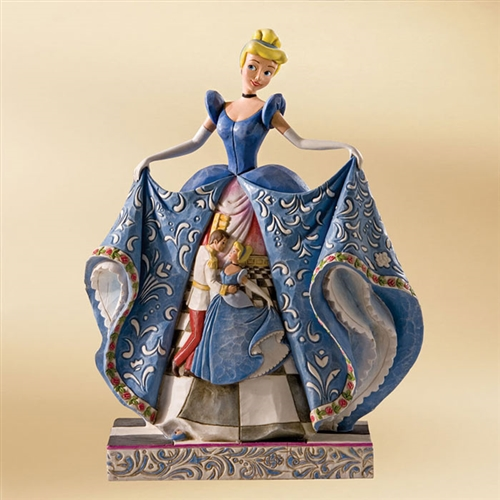 Disney Traditions Cinderella with Waltz Scene Figurine by Jim Shore, 4007216