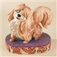 Disney Traditions Lady and The Tramp Peg Figurine by Jim Shore, 4009257