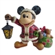 Disney Traditions Santa Mickey with Lantern Figurine by Jim Shore, 4029584