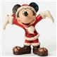 Disney Traditions Santa Mickey Figurine by Jim Shore, 4046016