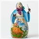 Disney Traditions Cinderella's Fairy Godmother Snowwoman Figurine by Jim Shore, 4046022