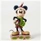 Disney Traditions Mickey Mouse Christmas Figurine By Jim Shore, 4051966